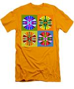 Abstract Circles And Squares 1 Men's T-Shirt (Athletic Fit)