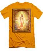 Lakshmi The Goddess Of Fortune And Abundance Men's T-Shirt (Athletic Fit)