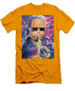 Leroi Moore And 2007 Lights Men's T-Shirt (Athletic Fit)