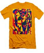 Live Adventurously Men's T-Shirt (Athletic Fit)