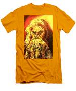 Moses At The Burning Bush Men's T-Shirt (Athletic Fit)