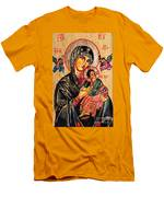 Our Lady Of Perpetual Help Icon Men's T-Shirt (Athletic Fit)