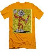 Reddy Kilowatt Bottle Cap Mosaic Men's T-Shirt (Athletic Fit)