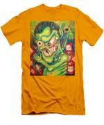 Alcoholic Demon Men's T-Shirt (Athletic Fit)