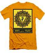 Celtic Tribal Solar Plexus Chakra Men's T-Shirt (Athletic Fit)