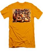 Chaos After The News Men's T-Shirt (Athletic Fit)