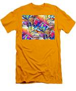 Color Me Abstract Men's T-Shirt (Athletic Fit)