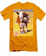 Cow Bubbles Men's T-Shirt (Athletic Fit)