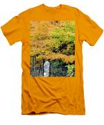 Fenced In Color Men's T-Shirt (Athletic Fit)