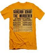 Lincoln Assassination Men's T-Shirt (Athletic Fit)