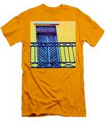 On The Balcony Men's T-Shirt (Athletic Fit)