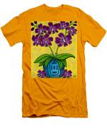 Orchid Delight Men's T-Shirt (Athletic Fit)