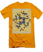 Penny Postcard Silk-stitched Men's T-Shirt (Athletic Fit)