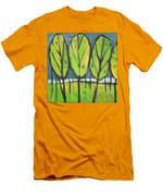 Spring At The Lake Men's T-Shirt (Athletic Fit)