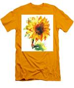 Sunflower With Blues Men's T-Shirt (Athletic Fit)