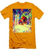 The Magical Skis Men's T-Shirt (Athletic Fit)
