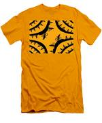 Uphill Downhill Men's T-Shirt (Athletic Fit)