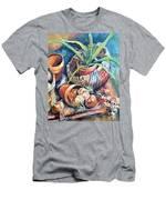 Baskets Men's T-Shirt (Athletic Fit)