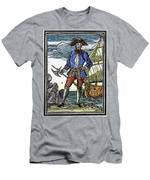 Pirate Edward England Men's T-Shirt (Athletic Fit)