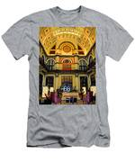 Union Station Lobby Larger Size Men's T-Shirt (Athletic Fit)