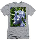 Purple Bearded Iris Men's T-Shirt (Athletic Fit)
