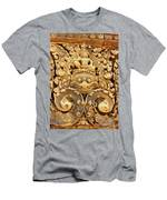 Banteay Srei Carving 01 Men's T-Shirt (Athletic Fit)