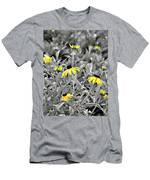 Black-eyed Susan Field Men's T-Shirt (Athletic Fit)