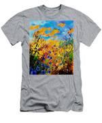 Blue Cornflowers 450408 Men's T-Shirt (Athletic Fit)