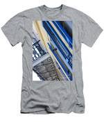 Blue Shutters In New Orleans Men's T-Shirt (Athletic Fit)