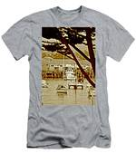 California Coastal Harbor Men's T-Shirt (Athletic Fit)