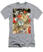Christmas Decorations In Window Men's T-Shirt (Athletic Fit)