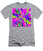 Dahlia Flower Abstract #1 Men's T-Shirt (Athletic Fit)