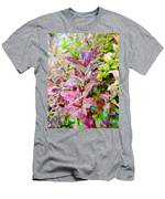 Fall Colors On A Foggy Day 2 Men's T-Shirt (Athletic Fit)