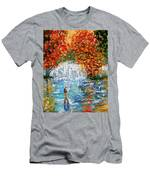 Fall Fishing Men's T-Shirt (Athletic Fit)