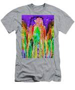 Fanciful Colors  Abstract Mosaic Men's T-Shirt (Athletic Fit)