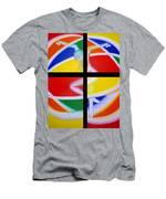 Firedancer Men's T-Shirt (Athletic Fit)