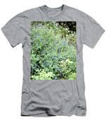 Garden Blues Men's T-Shirt (Athletic Fit)