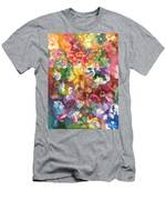 Garden - The Secret Life Of The Leftover Paint Men's T-Shirt (Athletic Fit)