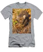 Leopard Cub Men's T-Shirt (Athletic Fit)