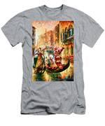 Masks Of Venice Men's T-Shirt (Athletic Fit)