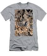 Multi-colored Lava Men's T-Shirt (Athletic Fit)