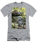 Nature's Mossy Boulders Men's T-Shirt (Athletic Fit)