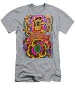 Oriental Leaf Men's T-Shirt (Athletic Fit)