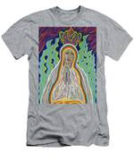 Our Lady Of Fatima 2012 Men's T-Shirt (Athletic Fit)