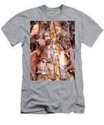 Pealing Bark Upclose Men's T-Shirt (Athletic Fit)