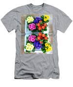Polyanthus Primroses Men's T-Shirt (Athletic Fit)