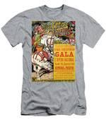 Reproduction Of A Poster Advertising The Fetes De Paris Men's T-Shirt (Athletic Fit)