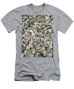 Rocks And Stones Texture Men's T-Shirt (Athletic Fit)