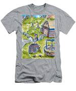 She Made Away Men's T-Shirt (Athletic Fit)