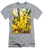Spring - Sprig Of Forsythia Men's T-Shirt (Athletic Fit)